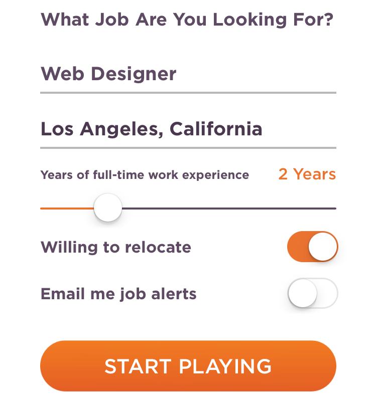 JobFlare 2.0 Experience Entry
