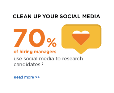 Clean up your social media