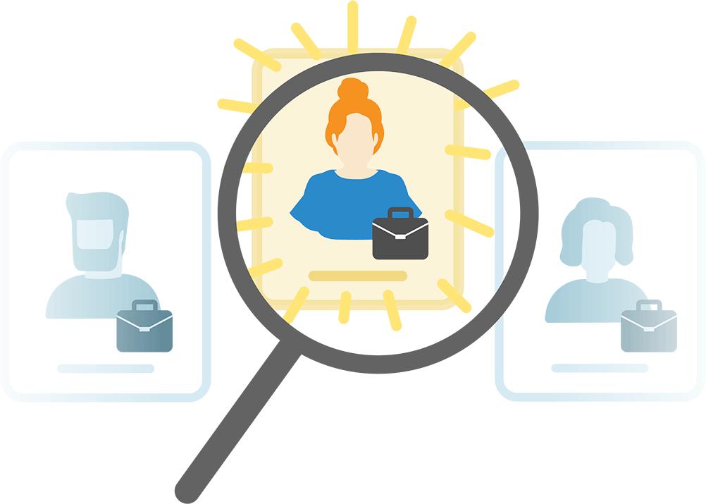 Identifying top job candidates